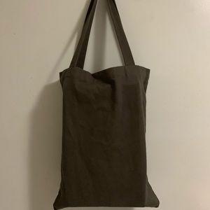 New Rick Owens Drkshdw Black Fabric Tote Bag